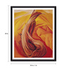 Tallenge Photographic Paper 18 x 1 x 24 Inch Modern Masters Collection Stump On Red Hills by Georgia O'Keeffe Framed Digital Art Print