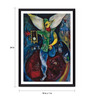 Tallenge Photographic Paper 18 x 1 x 24 Inch Modern Masters Collection The Juggler by Marc Chagall Framed Digital Art Print