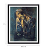 Tallenge Photographic Paper 18 x 1 x 24 Inch Modern Masters Collection Two Figures by Pablo Picasso Framed Digital Art Print