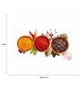 Tallenge Photographic Paper 24 x 1 x 18 Inch Art For Kitchen Spice Tree Framed Digital Art Print