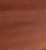 Tangerine Brown Cotton King Size Bed Sheet - Set of 3