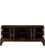 Goldendale Entertainment Unit in Provincial Teak Finish by Woodsworth