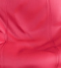 Teardrop Bean Bag Cover without Beans in Pink Colour by ExclusiveLane
