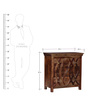 Tenino Chest of Drawers in Provincial Teak Finish by Woodsworth