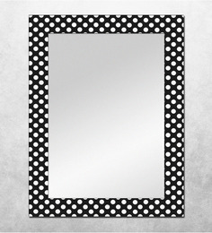 The Attic Provo Polka Dots MDF Framed Mirror