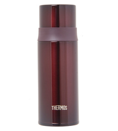 Thermos Brown Stainless Steel 350 ML Bottle With Stopper