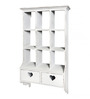 Jumilla Contemporary Wall Shelf in White by CasaCraft