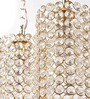 Costa Ceiling Lamp in Gold by CasaCraft