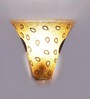 Sukhi Wall Light in Gold by Mudramark
