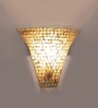 Lorita Wall Light in Gold by CasaCraft