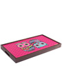 The Chumbak Owl Breakfast/ Coffee Table in Multicolor by Chumbak