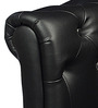 The Churchill Chair in Black Colour by HomeHQ