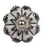 The Decor Mart Black Ceramic Door Knob ( Model No: DMKN086 ) - Set Of 4