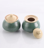 The Himalayan Goods Company Cylindrical 250 ML Pot - Set of 2