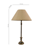The Lamp Store Khadi Poly Cotton Table Lamp