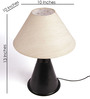The Light House Khadi Metal Table Lamp