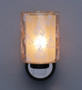 TLS by Kapoor Lampshades Brown Glass Wall Light