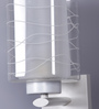 The Light Store White Metal & Glass Wall Light