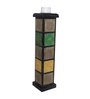 The Mikky Shoppe Station Multicolour MDF Candle Stand