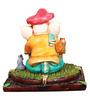 The Nodding Head Orange Munim Ganesha Idol