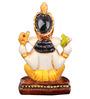 The Nodding Head Yellow Siddhivinayak Statue