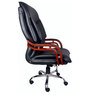 (Free Kid Chair)The Royale Black Wooden High Back in Black Color By VJ Interior