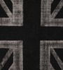 The Rug Republic Black & Grey Woollen Abstract Hand Woven Area Rug