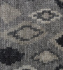 The Rug Republic Steel Viscose Abstract Pattern Carpet