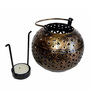 The Shopy Multicolour Metal Candle Stand