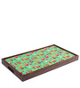 The Sleepy Owl Breakfast/ Coffee Table in Multicolor by Chumbak