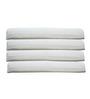 The White Willow Contour Visco Memory Foam Pillow Set of 4 Pcs 17