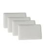The White Willow Visco Memory Foam L Pillow Set of 4 Pcs 17