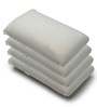 The White Willow White Memory Foam 19 x 10 Inch Rectangle Cushion Inserts - Set of 4
