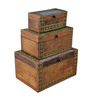 The Yellow Door Multipurpose Mango Wood Jewellery Box - Set of 3