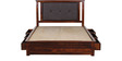 Rosholt King Bed with Storage in Provincial Teak Finish by Woodsworth