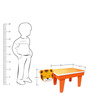 Tiger Study Table in Orange Colour by KuriousKid