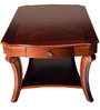 Tina Solidwood Centre Table in Brown Colour by HomeTown