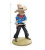 Tintin As A Cowboy Statue