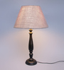 Toeni Table Lamp in Grey by Amberville