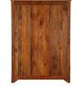 Edgewood  Wardrobe with Three doors in Honey Oak Finish by Woodsworth