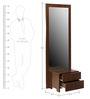 Traditional Dressing Table in Walnut Colour by Tube Style