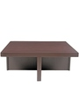 Trendy Coffee Table Set with Four Stools in Green Lines Colour by ARRA