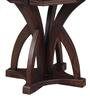 Henfrey End Table in Provincial Teak Finish by Amberville