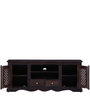 Trydelt Big Entertainment Unit in Warm Chestnut Finish by Amberville