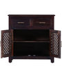 Trydelt Sideboard in Warm Chestnut Finish by Amberville