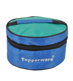 Tupperware Plastic Classic Lunch  Box With Insulated Bag