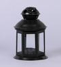 Tu Casa Black Hanging-cum-table Top Candle Lantern