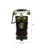 Tu Casa Brown Vintage Telephone