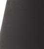 Tu Casa Black Poly Cotton Oval Lamp Shade
