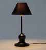 Tu Casa Pyramid Black Poly Cotton Lamp Shade